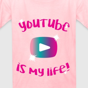 Always Alyssa (youtube is my life) (shirt) (girls) - Kids' T-Shirt