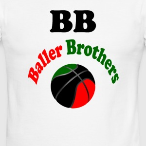 Baller Brothers RBG T-shirt - Men's Ringer T-Shirt