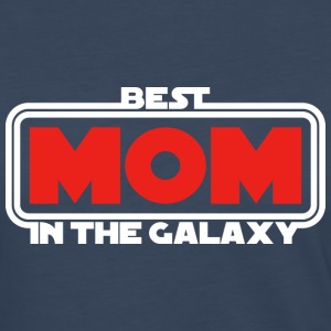 Best Mom in the Galaxy (dark) Long Sleeve Shirts - Women's Premium Long Sleeve T-Shirt