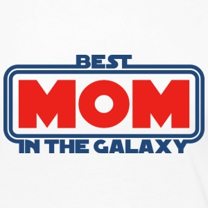 Best Mom in the Galaxy Long Sleeve Shirts - Women's Premium Long Sleeve T-Shirt