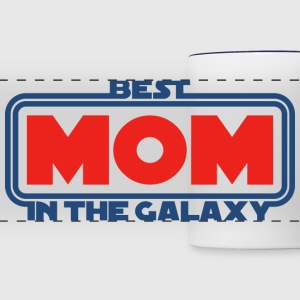 Best Mom in the Galaxy Mugs & Drinkware - Panoramic Mug