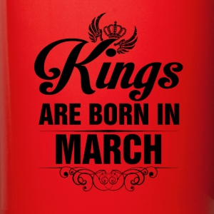 Kings Are Born In March Tshirt Mugs & Drinkware - Full Color Mug