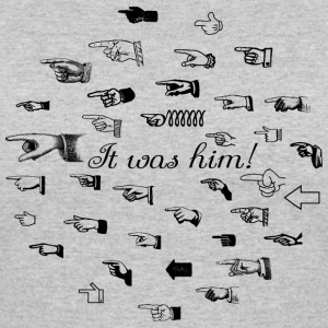 It was him T-Shirts - Women's 50/50 T-Shirt