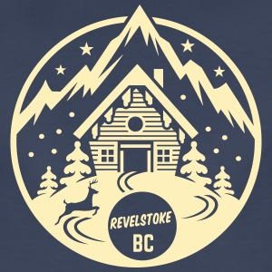 Revelstoke, British Columbia - Women's Premium T-Shirt