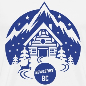 Revelstoke, British Columbia - Men's Premium T-Shirt