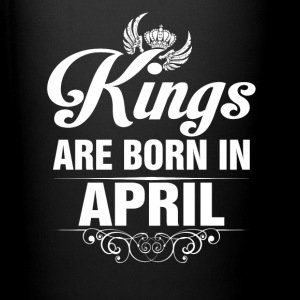 Kings Are Born In April Tshirt Mugs & Drinkware - Full Color Mug