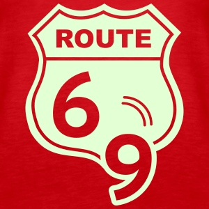 Route 66 Hell Highway 69 Tanks - Women's Premium Tank Top