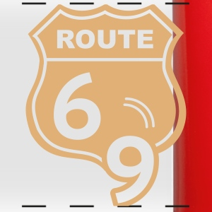 Route 66 Hell Highway 69 Mugs & Drinkware - Full Color Panoramic Mug