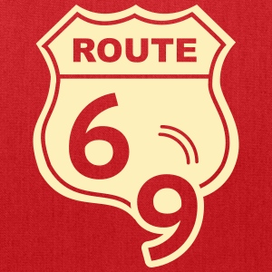 Route 66 Hell Highway 69 Bags & backpacks - Tote Bag