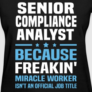 Senior Compliance Analyst - Women's T-Shirt