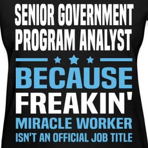 Senior Government Program Analyst - Women's T-Shirt