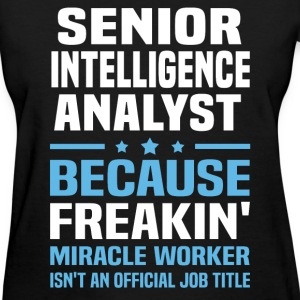 Senior Intelligence Analyst - Women's T-Shirt