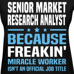 Senior Market Research Analyst - Women's T-Shirt