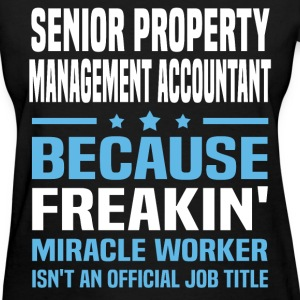 Senior Property Management Accountant - Women's T-Shirt
