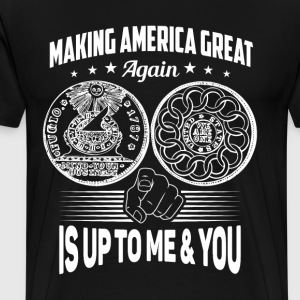 Making America Great Again - Men. Women's, Short S - Men's Premium T-Shirt