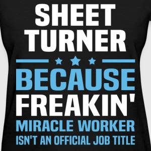 Sheet Turner T-Shirts - Women's T-Shirt