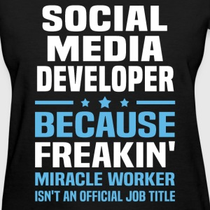 Social Media Developer T-Shirts - Women's T-Shirt