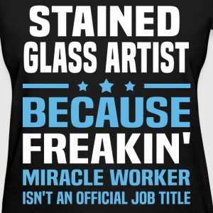 Stained Glass Artist T-Shirts - Women's T-Shirt