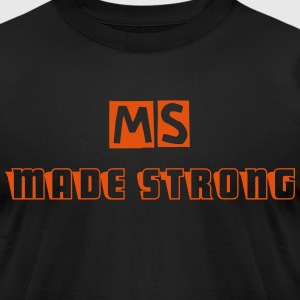 Men's MS support T-Shirt  - Men's T-Shirt by American Apparel
