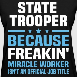 State Trooper T-Shirts - Women's T-Shirt
