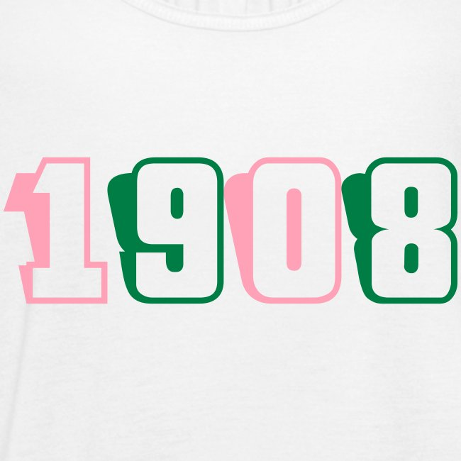 1908 tank (pink and green text)