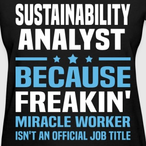 Sustainability Analyst T-Shirts - Women's T-Shirt
