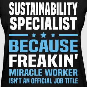 Sustainability Specialist T-Shirts - Women's T-Shirt
