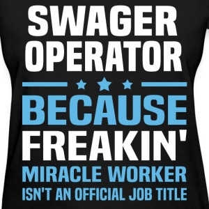Swager Operator T-Shirts - Women's T-Shirt