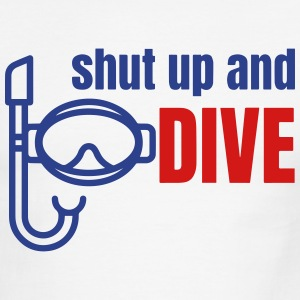 Diving T-Shirts - Men's Ringer T-Shirt