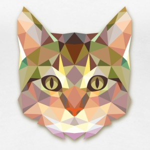 Geometric Cat T-Shirts - Women's Premium T-Shirt