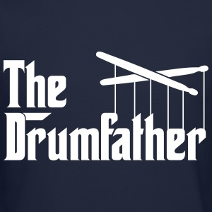 Drummer - The Drumfather Long Sleeve Shirts - Crewneck Sweatshirt