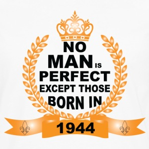 No Man is Perfect Except Those Born in 1944 Long Sleeve Shirts - Men's Premium Long Sleeve T-Shirt