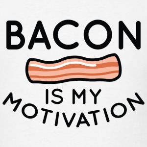 Bacon Is My Motivation - Men's T-Shirt