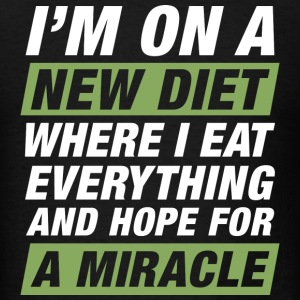New Diet Miracle - Men's T-Shirt