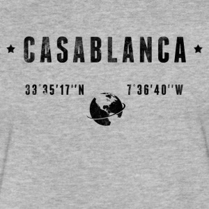 Casablanca T-Shirts - Fitted Cotton/Poly T-Shirt by Next Level