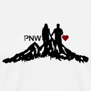 PNW Love T-Shirts - Men's Premium T-Shirt