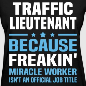 Traffic Lieutenant T-Shirts - Women's T-Shirt
