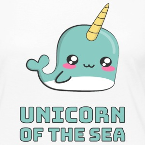 Narwhal Unicorn of the Sea Long Sleeve Shirts - Women's Premium Long Sleeve T-Shirt
