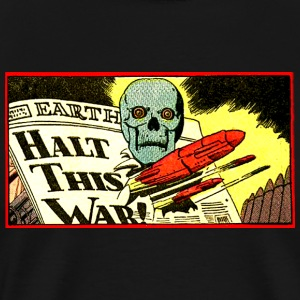 Halt This Solar War! - Men's Premium T-Shirt