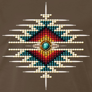 Southwest Native Sunburst 9 - Men's Premium T-Shirt