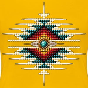 Southwest Native Sunburst 9 - Women's Premium T-Shirt