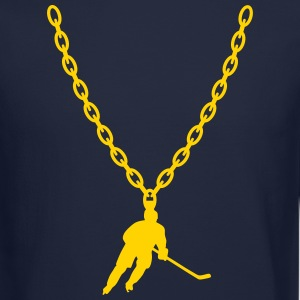 Hockey Gold Chain Long Sleeve Shirts - Crewneck Sweatshirt