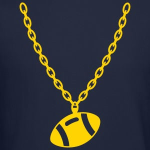 Football Gold Chain Long Sleeve Shirts - Crewneck Sweatshirt