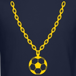 Soccer Gold Chain Long Sleeve Shirts - Crewneck Sweatshirt
