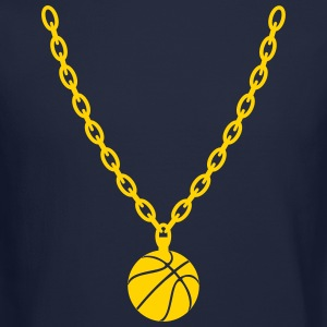 Basketball Gold Chain Long Sleeve Shirts - Crewneck Sweatshirt