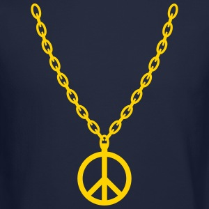 Peace Gold Chain Long Sleeve Shirts - Crewneck Sweatshirt