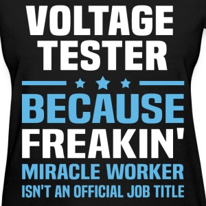 Voltage Tester T-Shirts - Women's T-Shirt