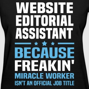 Website Editorial Assistant T-Shirts - Women's T-Shirt