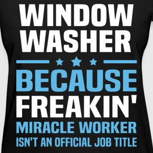 Window Washer T-Shirts - Women's T-Shirt