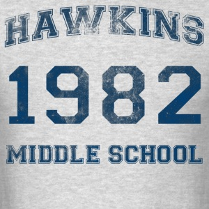 Hawkins 1982 - Men's T-Shirt